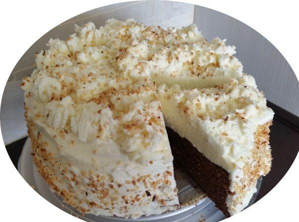 עוגת תמרים, שקדים ושוקולד_מתכון של אורנה ועלני