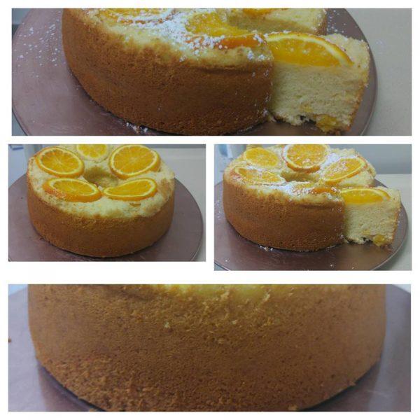 עוגת תפוזים עם חתיכות