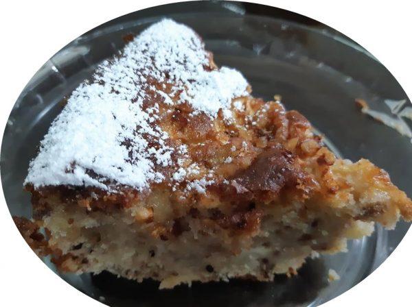 עוגת תפוחים , אגוזים ומייפל_מתכון של אורנה ועלני