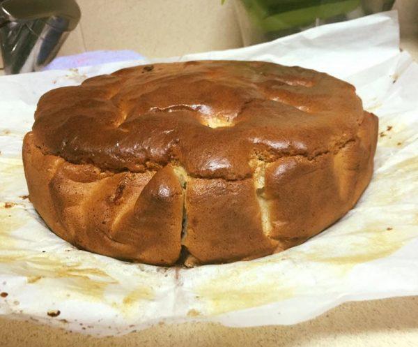 עוגת תפוחים הפוכה ללא גלוטן