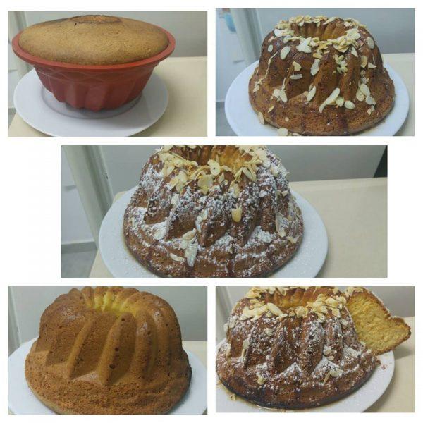 עוגת תפוחים וקוקוס ללא גלוטן