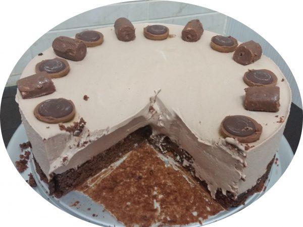 פאדג' שוקולד ומוס ערמונים