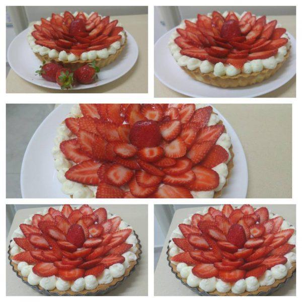 פאי תותים קל וטעים