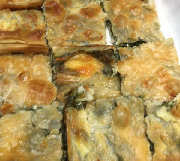 פילו במילוי גבינות ותרד