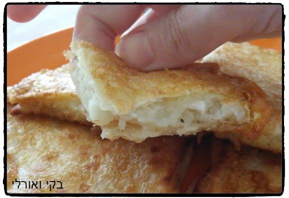 """פרנץ' טורטייה במילוי גבינה צפתית ותפו""""א"""
