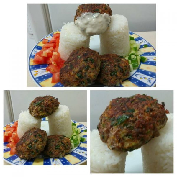 קציצות בשר ופרסה