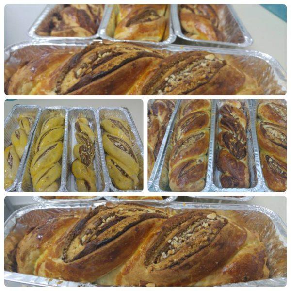קראנץ' במילוי שוקולד,אגוזים ופתיבר מרוסק