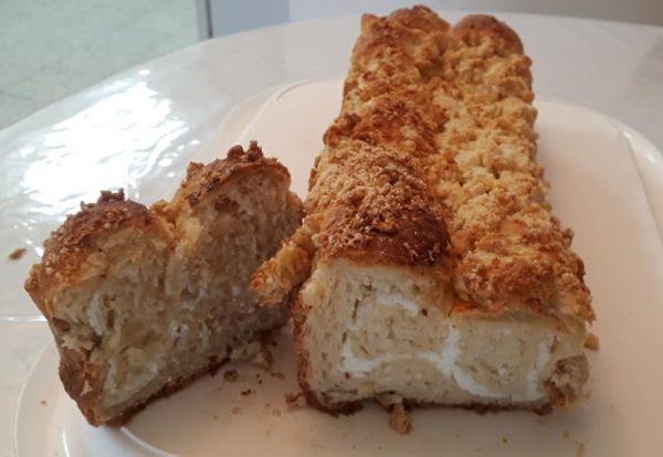 רולדות שמרים עם מילוי קקאו /גבינה