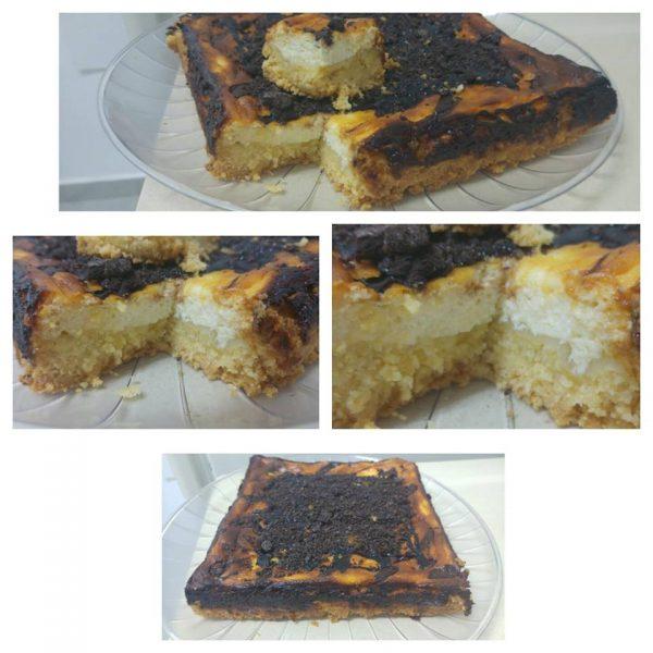 ריבועי גבינה עם קמח ללא גלוטן
