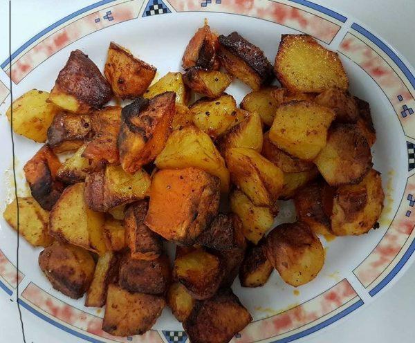 תפוחי אדמה בטטה אפויים