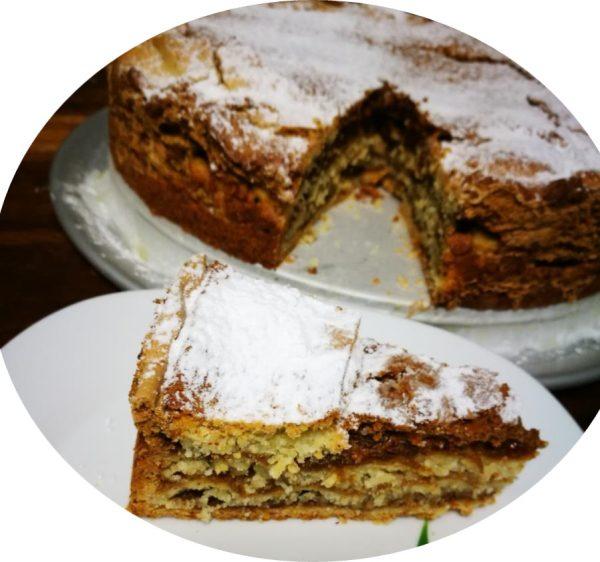 עוגת שכבות עם נס ומרנג_מתכון של שרה יוסף