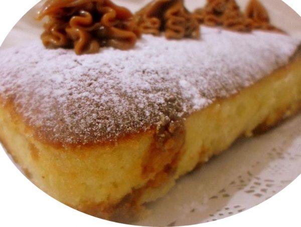 עוגת שמנת וריבת חלב קלה להכנה
