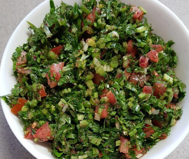 סלט ירק ועגבניות