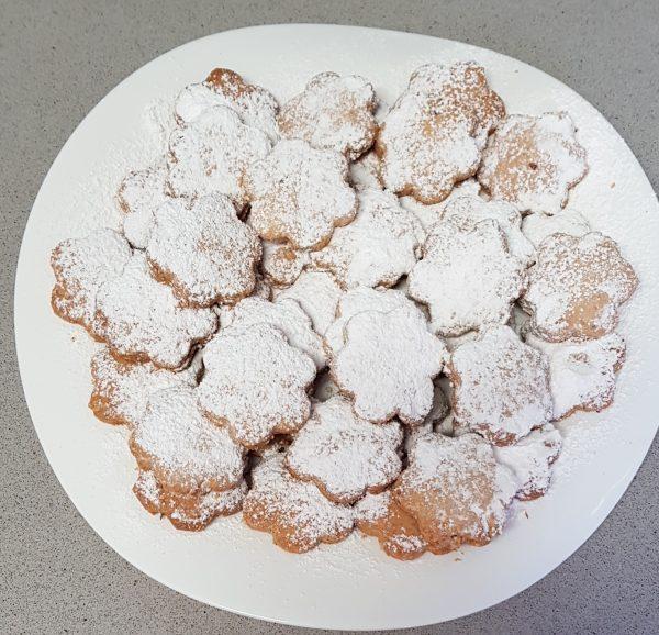 עוגיות אגוזי לוז וקוקוס