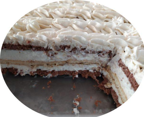 עוגת ביסקוויטים בטעם נס_מתכון של שרה יוסף
