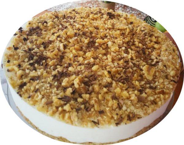 עוגת גבינה פירורים לפסח_מתכון של שרה יוסף