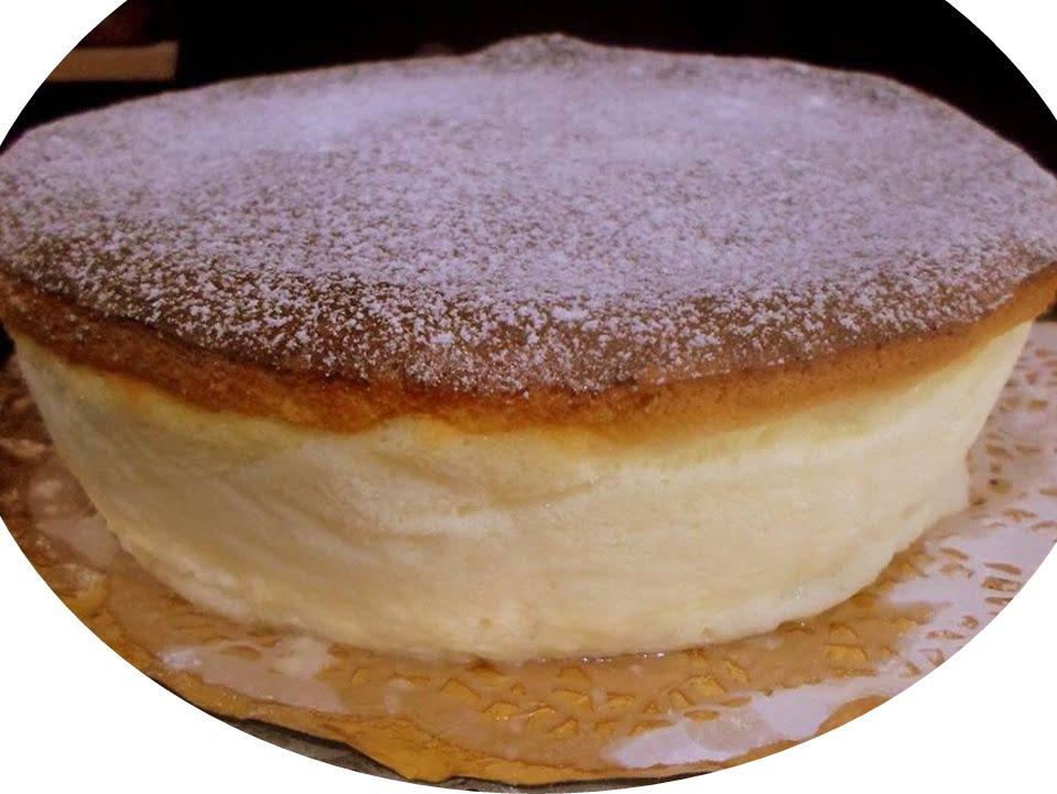 עוגת גבינה אפויה קלאסית, קלילה וגבוהה
