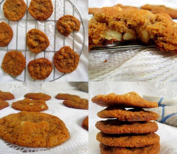 עוגיות דבש ואגוזים