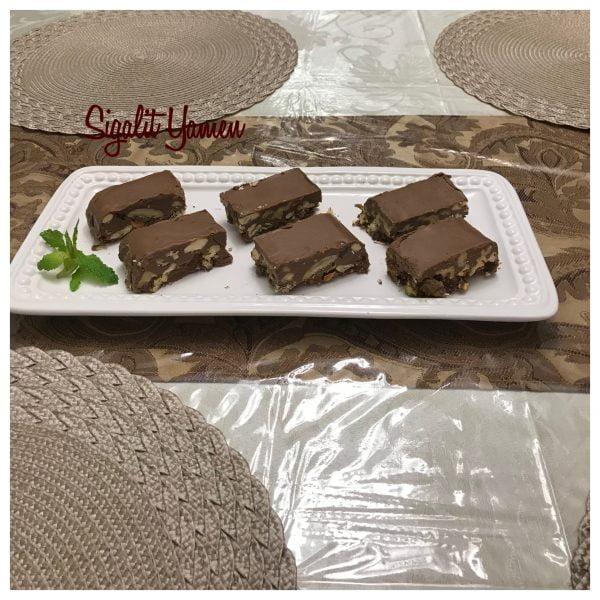 חטיף שוקולד פיצוחים
