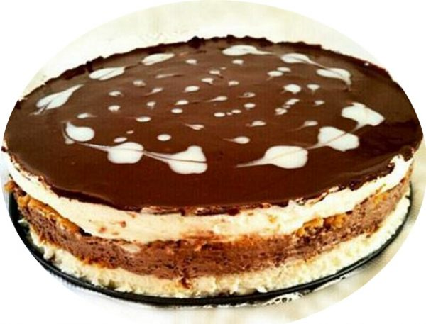 עוגת קוקוס משודרגת עם שוקולד