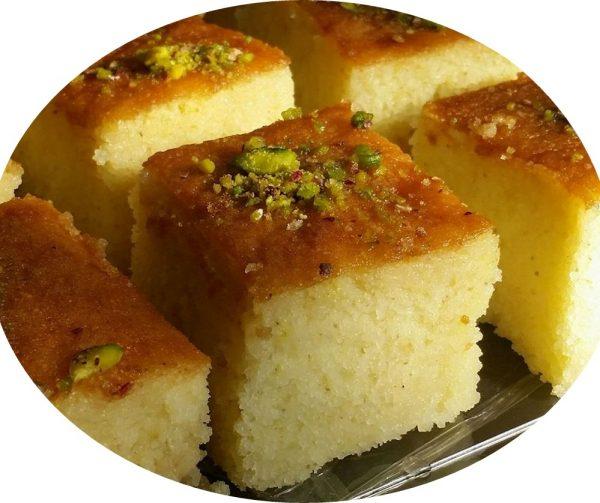 עוגת סולת יוגורט_הילה סמוכה רשתי