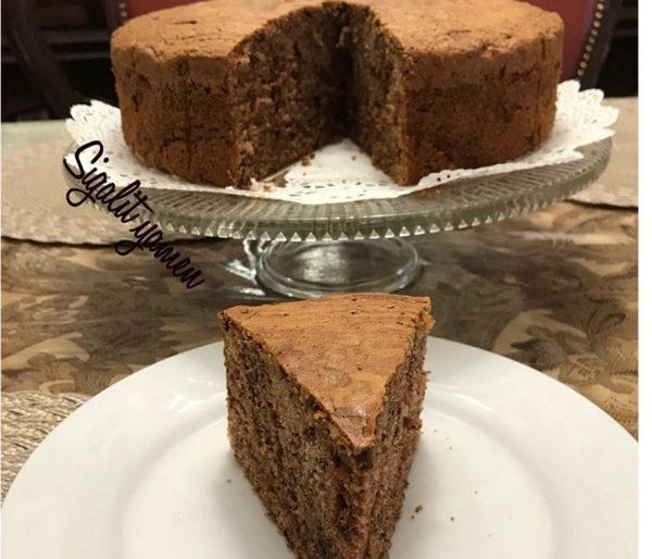 עוגת טורט אגוזים שוקולד שוקולד צ׳יפס