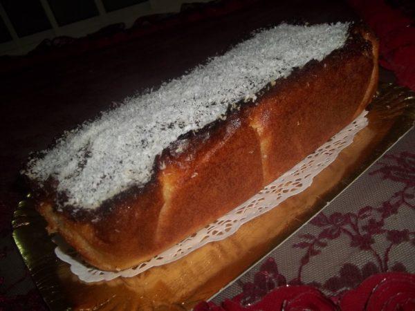 עוגת סולת בניחוח עז של תפוזים