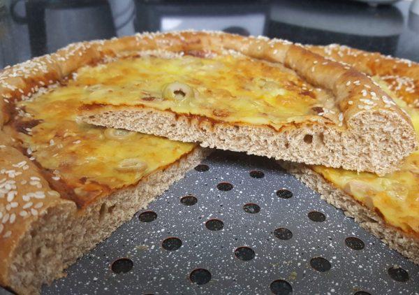 פיצה אליפותתת מקמח כוסמין מלא