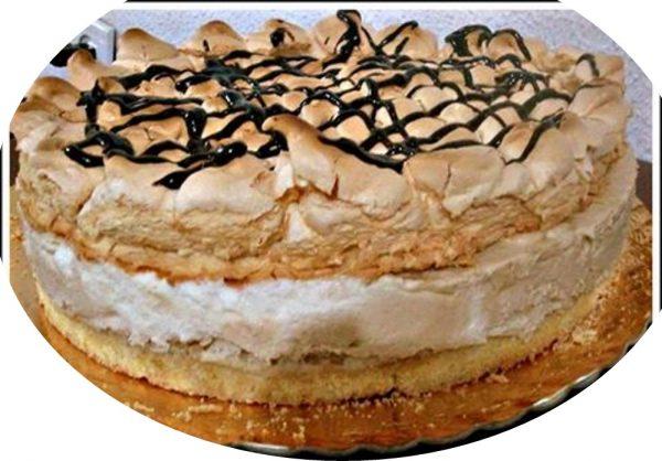 עוגת קצף וקצפת נוסטלגית