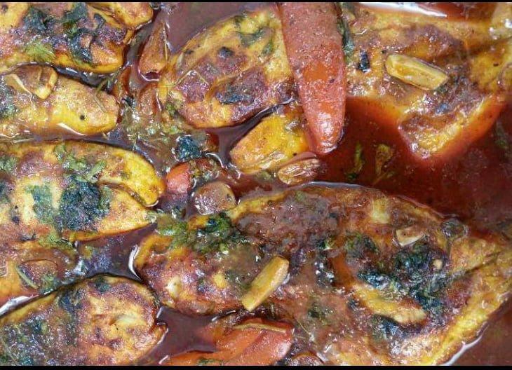 דג מרוקאי חריף אפוי בתנור