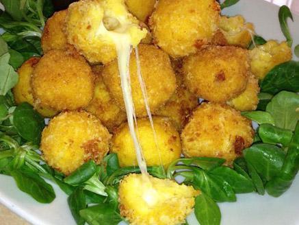 כדורי גבינה מקמח תירס