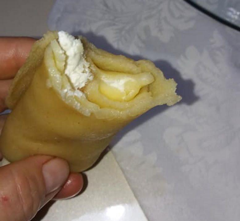 לאפה בלינצס מצויין למילוי חלבי או בשרי