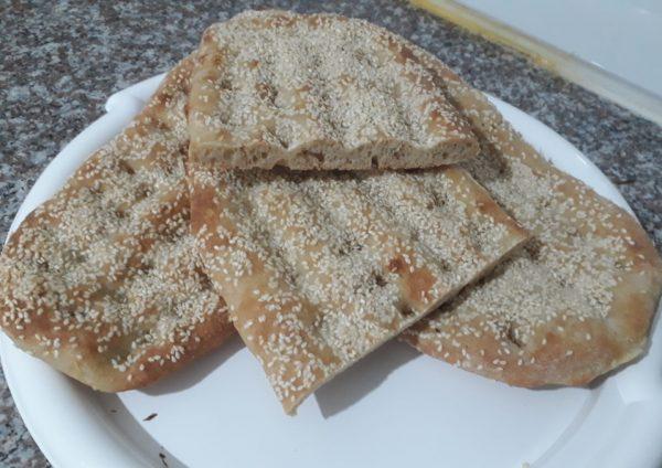 לחם פרסי שטוח…קריספי וטעים
