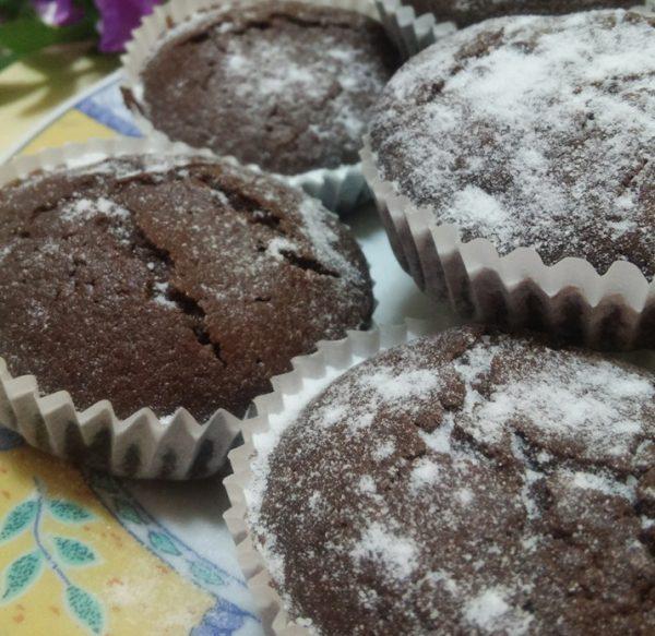 מאפינס שוקולד פרווה כשר לפסח 5 דקות