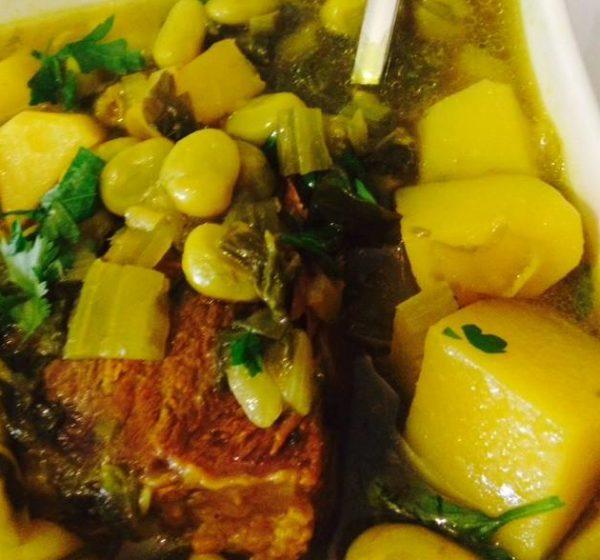 מרק פולים מרוקאים עם בשר_ריקי גבאי