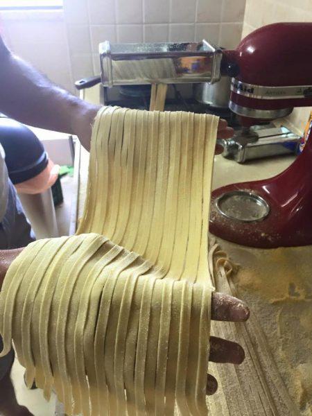 ספגטי תוצרת בית