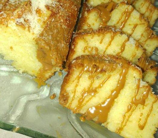 עוגה בחושה עם נגיעות של נוטלה ולוטוס