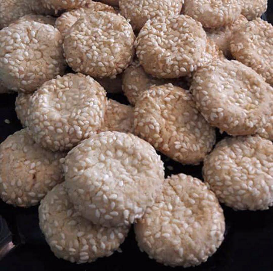 עוגיות טחינה_מתכון של שפרה אזולאי