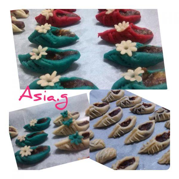 עוגיות מעמול בצורות שונות