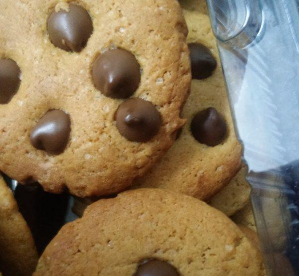 עוגיות שוקולד ציפס ללא מרגרינה/חמאה