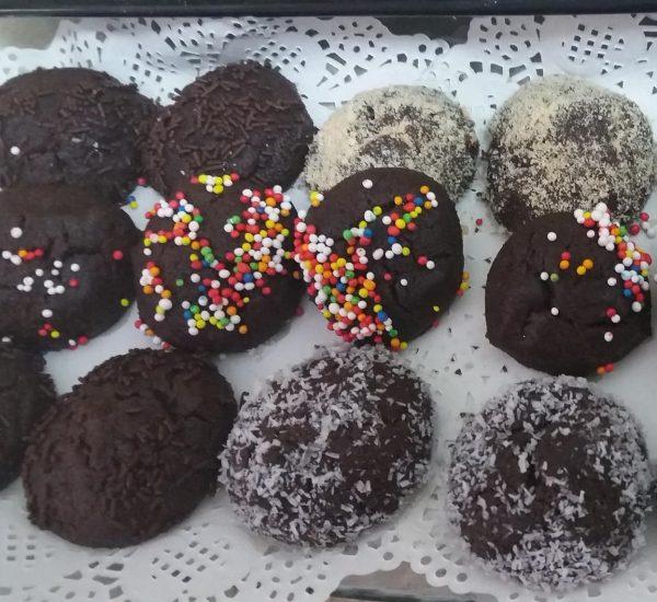 עוגיות שוקולד קוקוס