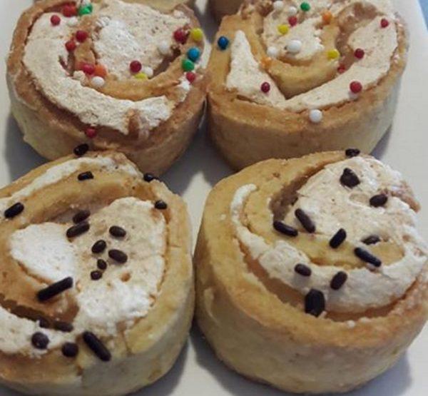עוגיות שושנים פרווה_מתכון של שפרה אזולאי