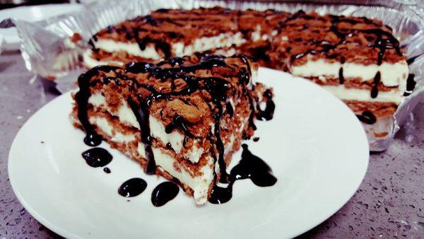 עוגת בסקווטים קלאסית