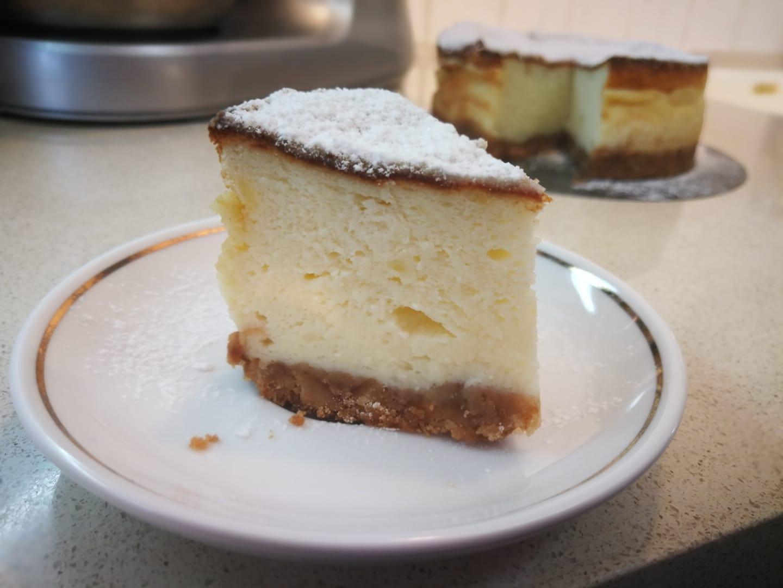 עוגת גבינה אפויה כשרה לפסח ,קלילה וטעימה בטירוף