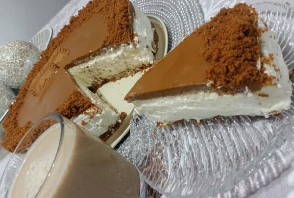 עוגת גבינה קרה לוטוס
