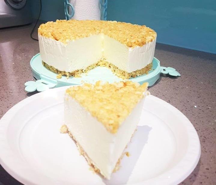 עוגת גבינה קרה