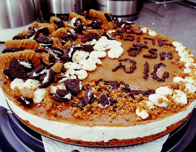 עוגת לוטוס עוגיות אוראו