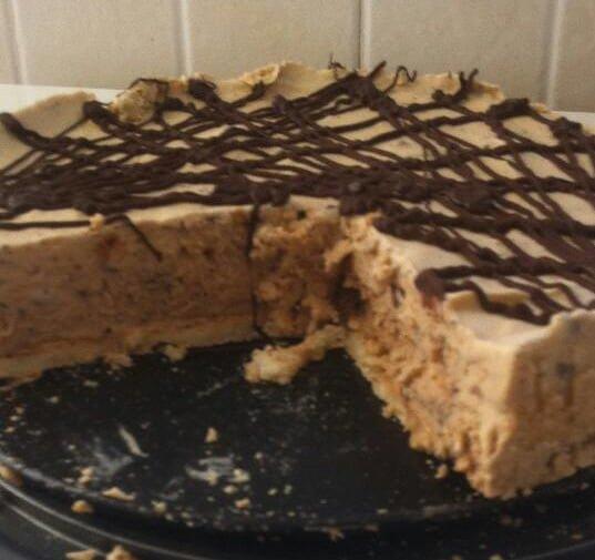 עוגת מוקה קפואה