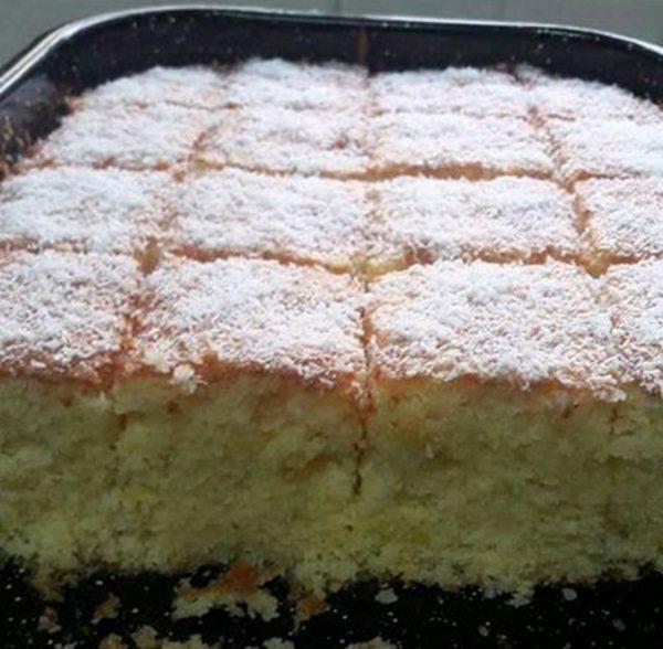 עוגת סולת וקוקוס פרווה