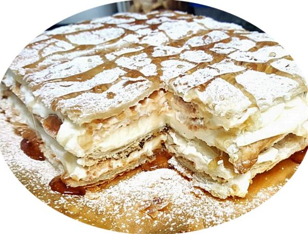 עוגת עלים מילפה_מתכון של עינת חנניה